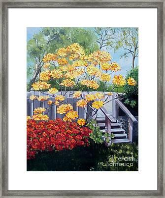 Azaleas Framed Print