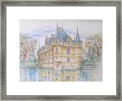 Azay Le Rideau Framed Print
