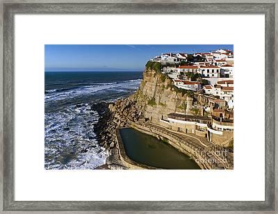 Azenhas Do Mar Framed Print by Andre Goncalves