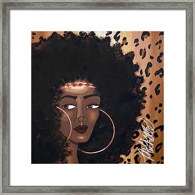 Azima Framed Print