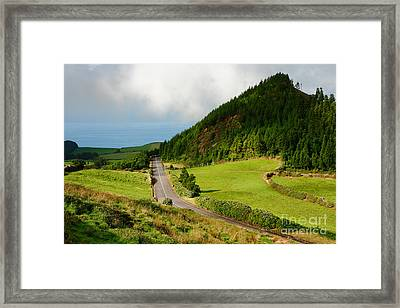 Azores Landscape Framed Print by Gaspar Avila
