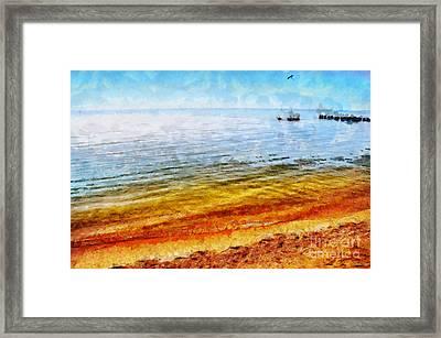 Azov Sea Framed Print