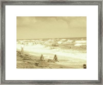 Azov Sea-seascape Framed Print