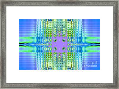 Aztec Computer Framed Print by Thomas Smith