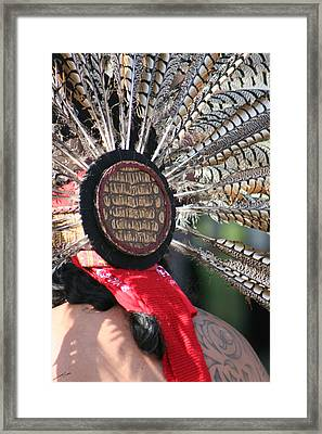 Aztec Danza 1 Framed Print by LoungeMode Productions