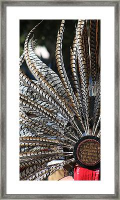Aztec Danza 2 Framed Print by LoungeMode Productions