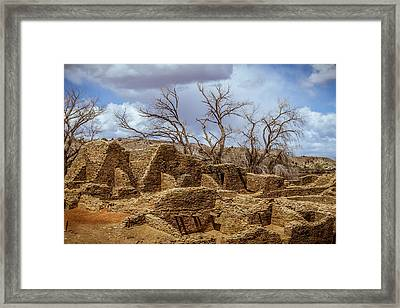 Aztec Ruins, New Mexico Framed Print