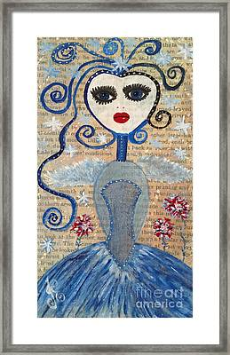 Azura Framed Print by Julie Engelhardt