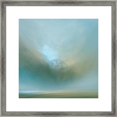 Azure Mist Framed Print