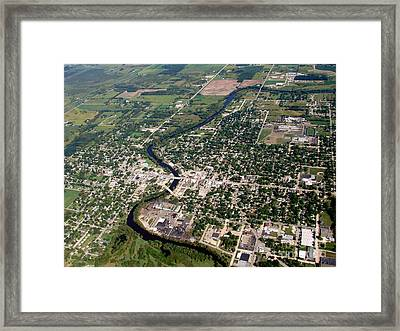 Framed Print featuring the photograph B-022 Berlin Wisconsin by Bill Lang