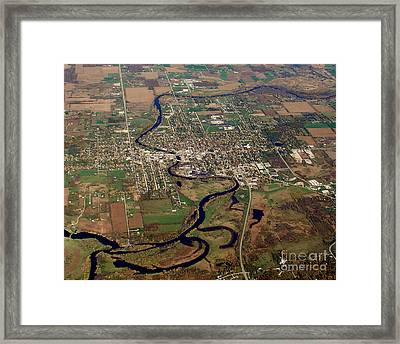 Framed Print featuring the photograph B-026 Berlin Wisconsin Fall by Bill Lang