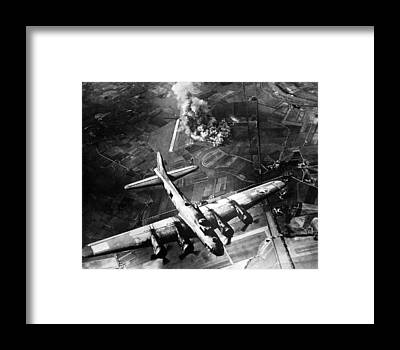 B-17 Framed Prints