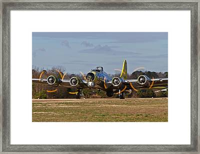 B-17 Chuckie Taxis Out Framed Print