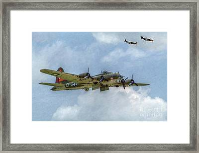 B-17 Flying Fortress Bomber  Framed Print