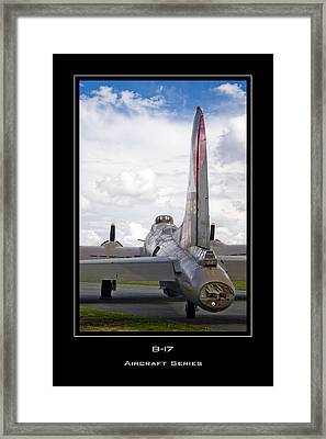 B-17 Pink Lady Framed Print by Mathias Rousseau