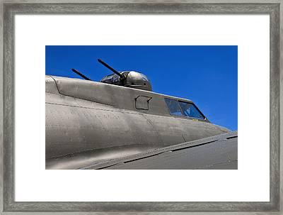 B-17 Top Guns Framed Print by Murray Bloom