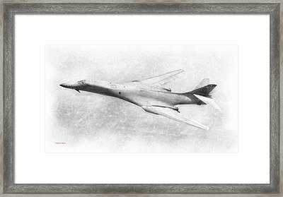 B-1b Lancer Framed Print