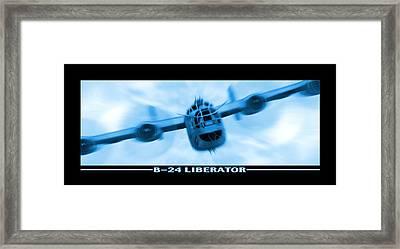 B-24 Liberator Framed Print by Mike McGlothlen