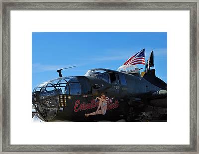 Executive Sweet, B-25  Framed Print by Paul Ker