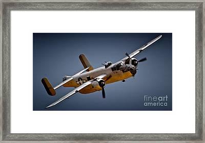 B-25 Mitchell 2011 Chino Air Show Framed Print