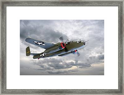 B-25 Mitchell Bomber Framed Print