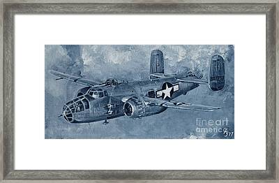 B-25 Mitchell Framed Print