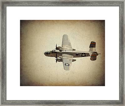 B-25j    Miss Mitchell Framed Print
