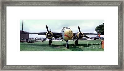 B-25j Mary Alice II, Mitchell Bomber Framed Print