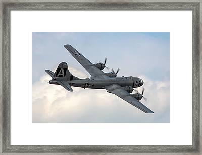 B-29 Superfortress Framed Print by Bill Lindsay