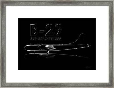 B-29 Superfortress Framed Print by David Collins