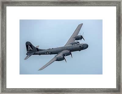 B-29 Superfortress Fifi Framed Print by Bill Lindsay