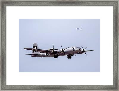 B-29 Superfortress Framed Print