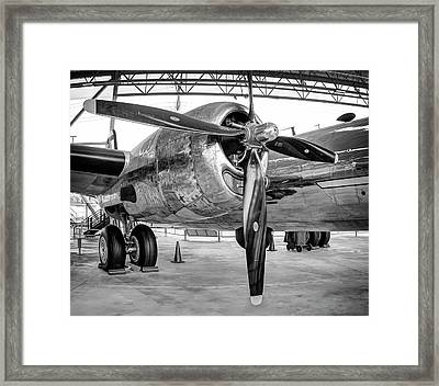 B-29 Superfortress Starboard Engine Framed Print by Daniel Hagerman