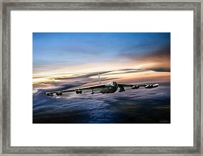 B-52 Inbound Framed Print