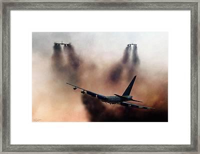 B-52d Mito Framed Print