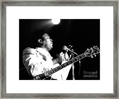 B B King 1978 Framed Print