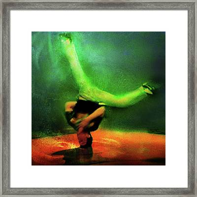 B-boy Framed Print
