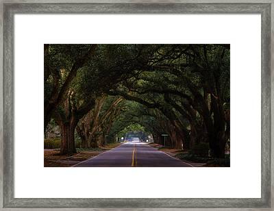 Boundary Ave Aiken Sc 6 Framed Print