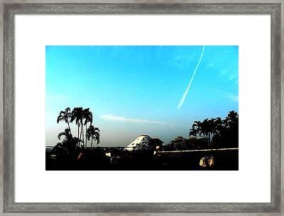 B Framed Print by Mohammed Nasir