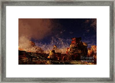 B-perl Framed Print by Napo Bonaparte