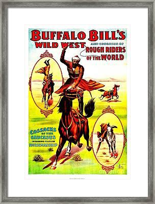 Buffalo Bills Wild West Rough Riders Of The World 1898 Framed Print