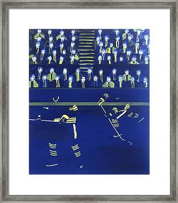 B S Framed Print by Ken Yackel