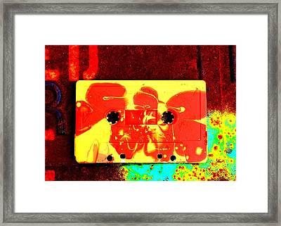 B-side Framed Print