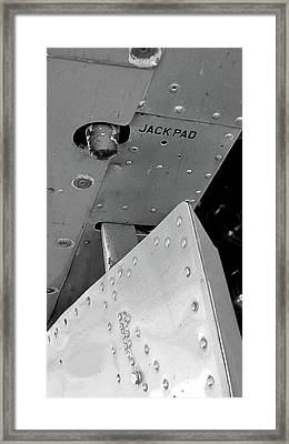 B17 Jack Pad Framed Print by Larry Darnell