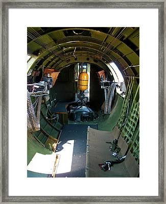 b17 Tunnel of Love Framed Print by Larry Darnell