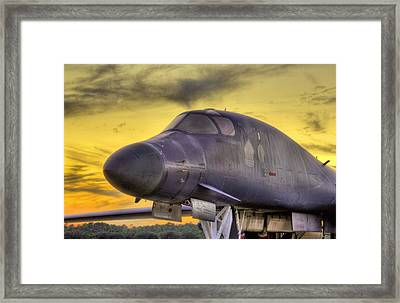 B-1b Heavy Framed Print by JC Findley