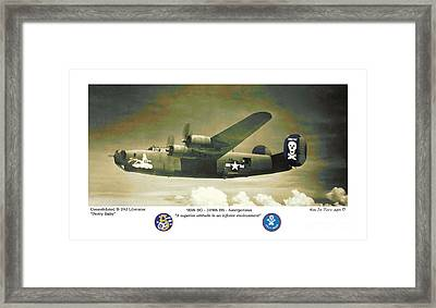 B24-pretty Baby Framed Print