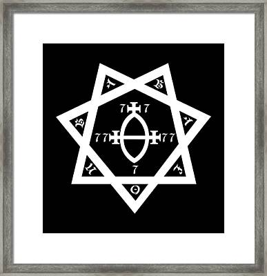 Babalon Seal Framed Print