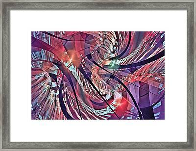Babbhion Rain Forest Framed Print