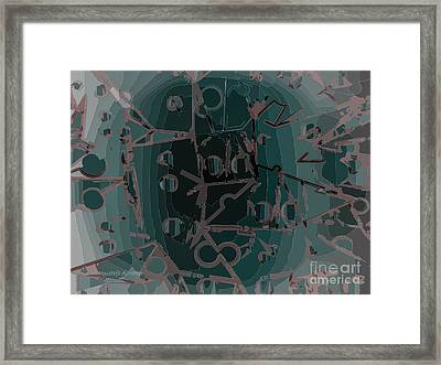 Babble Framed Print by Moustafa Al Hatter